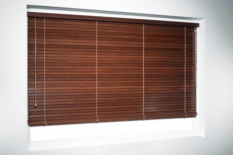 Żaluzja pozioma drewniana 25 mm 4