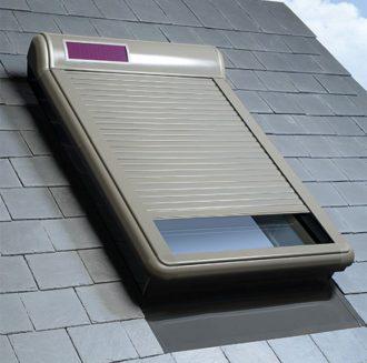 Roleta zewnętrzna dachowa solar Fakro